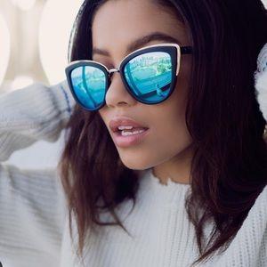 QUAY AUSTRALIA | My Girl 55mm Cat Eye Sunglasses